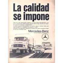 Antigua Publicidad Mercedes Benz Colectivos Camiones