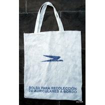Aerolineas Argentina Bolsa De A Bordo Recoleccion Auriculare