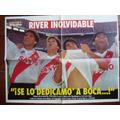 River Le Gana A Boca Poster De El Grafico Año 1994