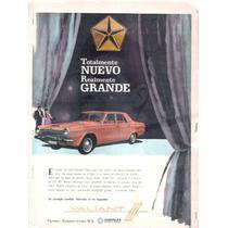 Antigua Publicidad Auto Valiant Iii