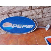 Antiguo Cartel De Pepsi Usado