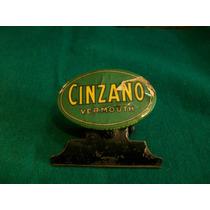 Antiguo Clip Broche Aleman Publicidad De Cinzano