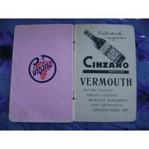 Antigua Libreta De Almacen Cinzano Vermouth 129 $