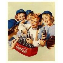 Carteles Antiguos En Chapa Gruesa 20x30cm Coca Cola Dr-356