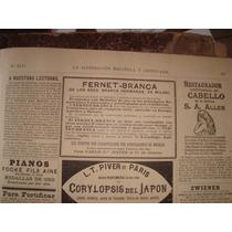 Antigua Publicidad Fernet Branca 1888 La Ilustracion America