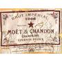 Carteles Antiguos Chapa 20x30cm Champagne Chandon Dr-200