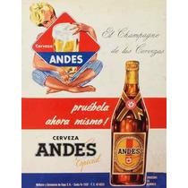 Carteles Antiguos Chapa Gruesa 20x30cm Cerveza Beer Dr-219