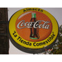 Cartel Luminoso Publicidad Coca Cola