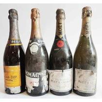 Carteles Antiguos De Chapa Gruesa 20x30cm Champagne Dr-200