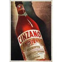 Carteles Antiguos Chapa Grue 20x30cm Vermouth Cinzano Dr-161