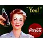 Carteles Antiguos En Chapa Gruesa 20x30cm Coca Cola Dr-012