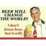 Carteles Antiguos Chapa Gruesa 20x30cm Cerveza Beer Dr-113