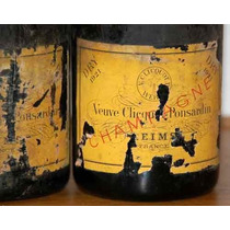 Carteles Antiguos De Chapa Gruesa 20x30cm Champagne Dr-213