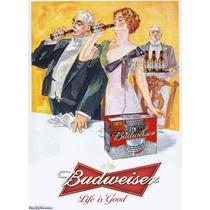 Carteles Antiguos Chapa Gruesa 20x30cm Cerveza Beer Dr-249