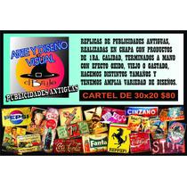 Replicas De Publicidades Antiguas