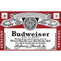 Carteles Antiguos Chapa Gruesa 20x30cm Cerveza Beer Dr-133