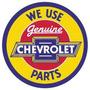 Carteles Antiguos Chapa 50cm Chevrolet Genuine Au-106