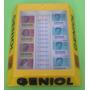 Antiguo Exhibidor Expendedor Geniol