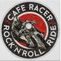 Carteles Antiguos Chapa Gruesa 50cm Moto Café Racer Mot-022