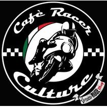 Carteles Antiguos De Chapa Gruesa 50cm Café Racer Moto -024