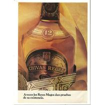 Publicidad De Whisky Chivas Regal.