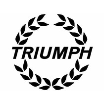 Carteles Antiguos Chapa Gruesa 50cm Auto Triumph Moto -264