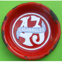 Antiguo Porotero Enlozado Cigarrillos 43