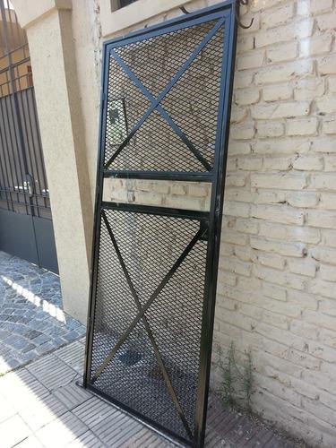 Puerta De Reja Super Segura Herreria Siran De Lanus