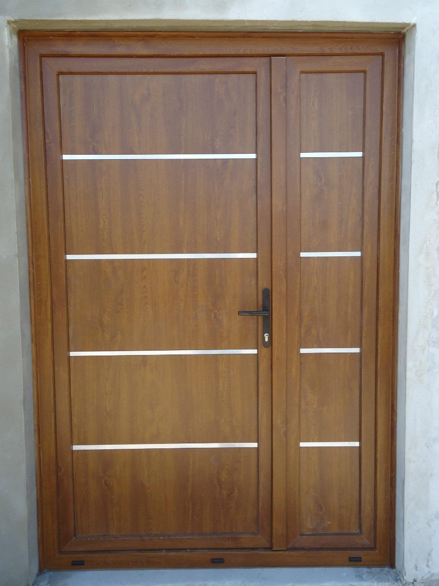 Puertas de aluminio imitacion madera exterior precios for Puertas de madera exterior modernas precios