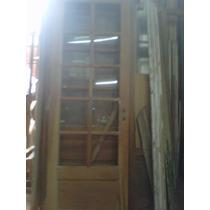 Puerta Cedro Vidrio Repartido