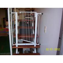 Puertita Proteccion Para Escalera Seguridad Bebes Niños