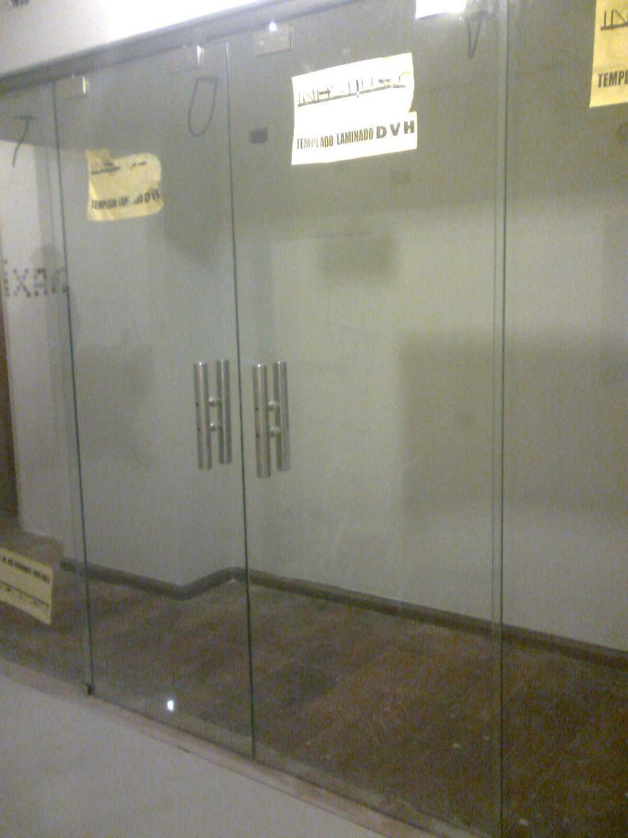 puertas vidrio blindex c herrajes mamparas de ba o a