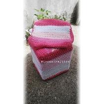 Funda Para Puff Crochet Totora