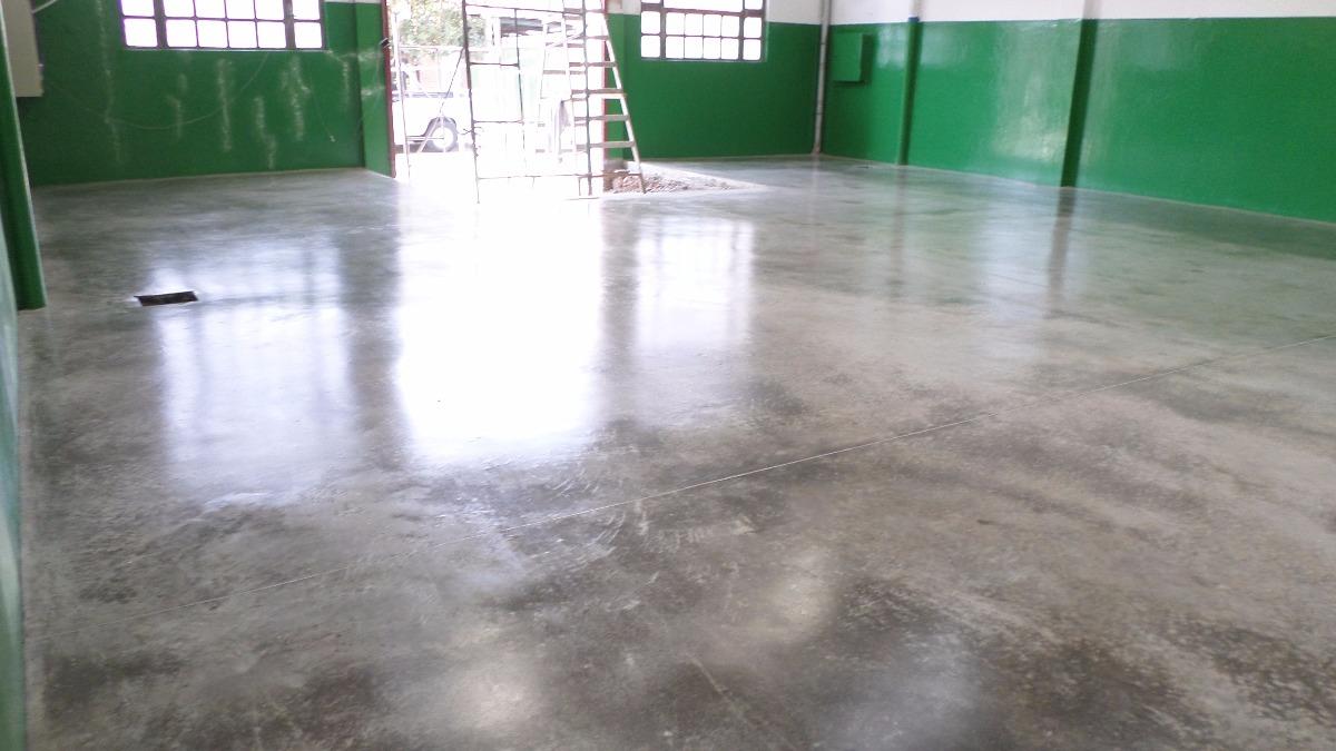 Pulido lustrado pisos industriales de hormig n galpones for Piso hormigon pulido