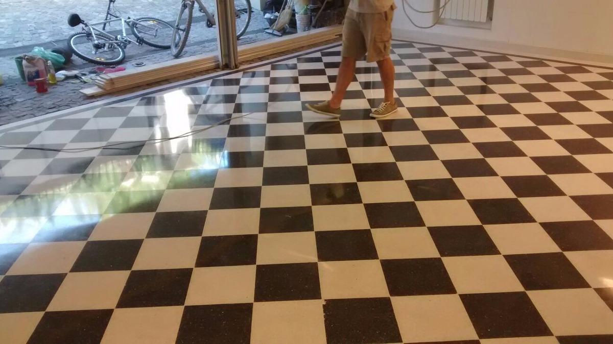 Pulidos de pisos mosaicos marmol calc reo y granito for Mosaicos para patios precios