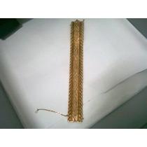 Pulsera O Brazalete De Oro 18 Ktes. 96 Gramos !! Unica !! !