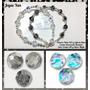 Pulsera Cristales Swarovski Element Genuinos Y Plata 925