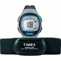 Reloj Timex T5k736 Pulsometro Caloria Lap Intervalo Graficos
