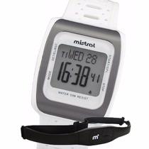 Reloj Pulsometro Mistral Hrmn322 Porcentaje Fc Laps E Gratis