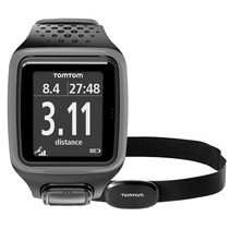 Smartwatch Tomtom Runner Gps+hrm C/banda Cardiaca Pulsometro