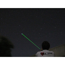 Puntero Laser Verde 1000mw Recargable Foco Ajustable Quema!!