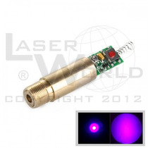 Módulo Láser Azul Violeta 405nm 5mw, Uv - Medicina, Ciencia