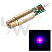 Módulo Láser Azul Violeta 405nm 20mw, Uv - Medicina, Ciencia