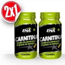 L-carnitina Ena Quemador De Grasa 120 Caps 2x1