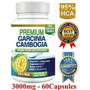 Pure Cambogia 3000 Mg 95 % Hca, Advanced, Lo + Puro. Usa