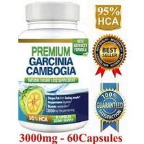 Garcinia Cambogia 3000 Mg 95 % Hca, Max Concentracion Usa