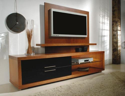 Modelo de mueble imagui for Modelos de muebles para tv modernos