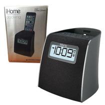 Radio Reloj Despertador Digital Ihome Ipl22 Dock Iphone Ipod