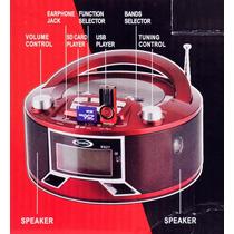 Radio Am/fm, Reproductor De Usb Y Sd