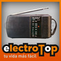 Radio Portatil Y De Bolsillo Am/fm Kchibo Kk-223 Garantia
